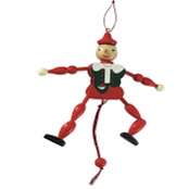 Wooden Jumping Pinnochio