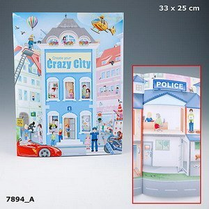 Create your Crazy City Sticker Book