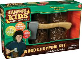 Wood Chopping Set